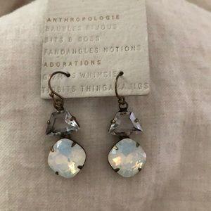 New Anthropologie Stone Earrings